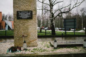 Denkmal auf dem Stalag-Gelände (Foto: Paul Glaser)