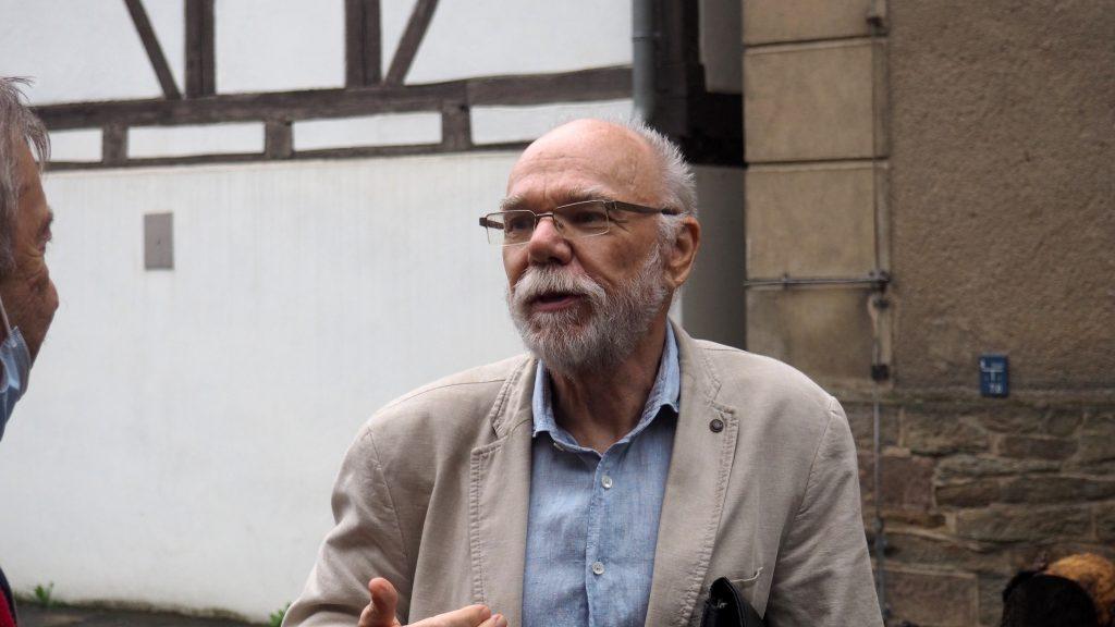 Dieter Gaitzsch, Sprecher sLAG. Foto: sLAG