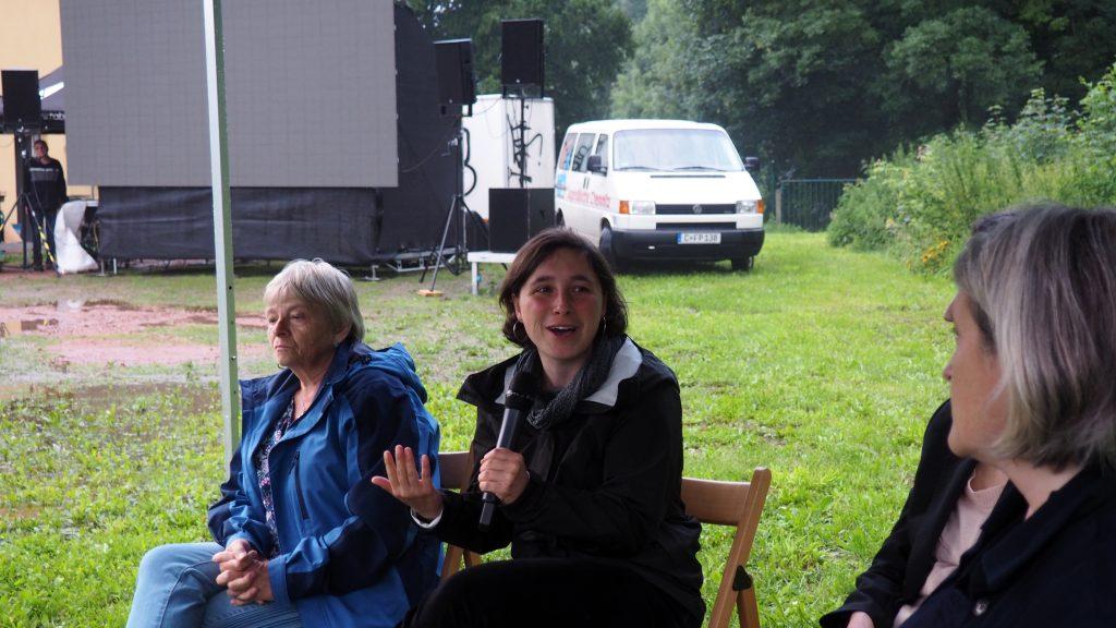 Anna Schüller über die Bedeutung des ehemaligen Konzentrationslagers. Foto: sLAG